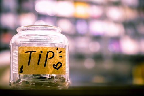 massage tips, after service tips